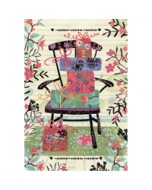 felicitatiekaart busquets - stoel met cadeaus