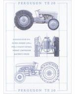 wenskaart clanna cards - ferguson te20 - tractor