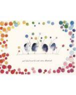 felicitatiekaart klara de kraai - gefeliciteerd van ons allemaal