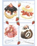wenskaart clanna cards - gebak