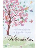geboortekaart tender moments - van harte gefeliciteerd met de geboorte van jullie kleindochter
