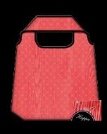 opvouwbare tas - happy bag - rood