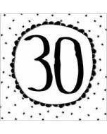30 - wenskaart  piano handwriting
