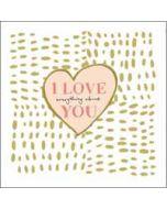 valentijnskaart  van woodmansterne - i love everything about you - hart