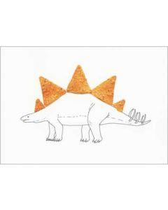 ansichtkaart cintascotch - stegodoritosaurus - dinosaurus