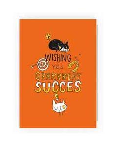 wenskaart pablo - wishing you grrreat succes