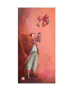 wenskaart  gaelle boissonnard - ballonnen