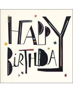 verjaardagskaart woodmansterne - happy birthday