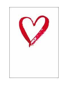 valentijnskaart woodmansterne - hart
