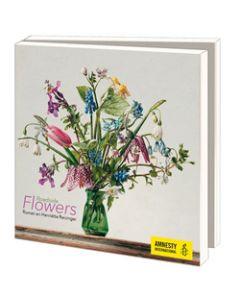 10 wenskaarten voor amnesty international - roadside flowers van Roman en Henriëtte Reisinger