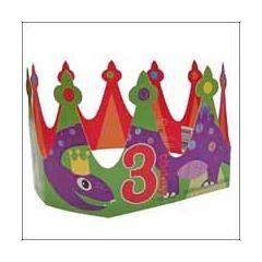 3 jaar - verjaardagskroontje - slang