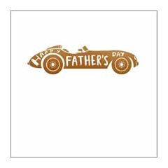 vaderdagkaart woodmansterne - happy father's day - auto