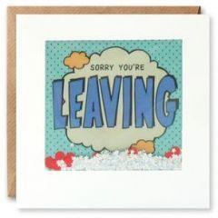 afscheidskaart  shakies - sorry you are leaving