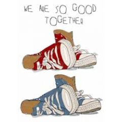 wenskaart mouse & pen - we are so good together - gympen