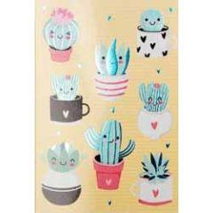 wenskaart - cactussen