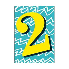 2 jaar - verjaardagskaart woodmansterne - blauw geel