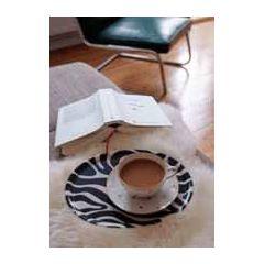 ansichtkaart bildreich - een goed boek en koffie