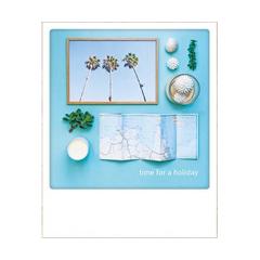 ansichtkaart instagram - time for a holliday - vakantie