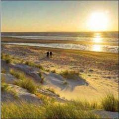 wenskaart  woodmansterne - strand en zee