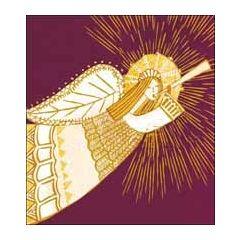 5 christelijke kerstkaarten woodmansterne - engel