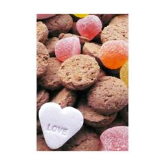 sinterklaas ansichtkaart - strooigoed - love