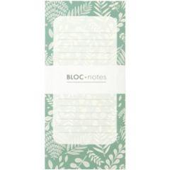 notitieblok bloc-notes mini labo - botanic