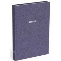 bullet journal A5 - my journal - donkerblauw glitter