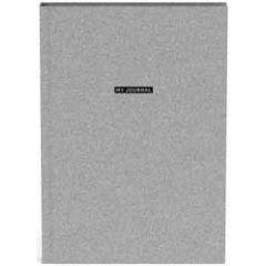 bullet journal A5 - my journal - zilver glitter