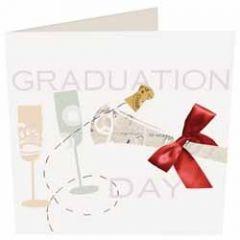 felicitatiekaart geslaagd van caroline gardner - graduation day