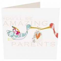 zwangerschapskaart caroline gardner - you ll be amazing parents
