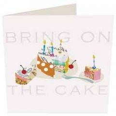 wenskaart caroline gardner - bring on the cake