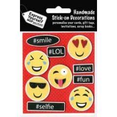 plak decoraties - smileys emoticons