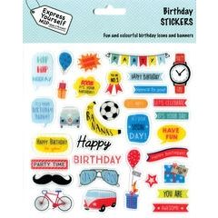 stickers - birthday boy