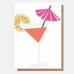 wenskaart caroline gardner - neo-pops - cocktail