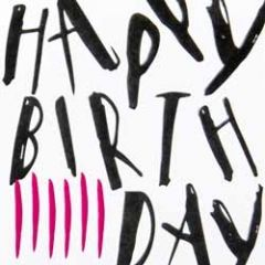 verjaardagskaart caroline gardner - happy birthday