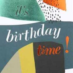 verjaardagskaart caroline gardner - it s birthday time!
