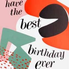verjaardagskaart caroline gardner - have the best birthday ever