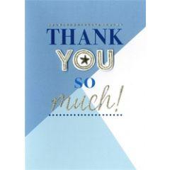 bedankkaart - thank you so much
