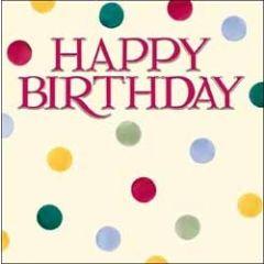 verjaardagskaart emma bridgewater - happy birthday