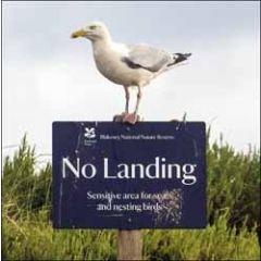 wenskaart woodmansterne - meeuw no landing