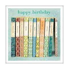verjaardagskaart woodmansterne esprit - happy birthday - engelse boeken