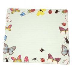 bureau notitieblok  planner - amnesty international - vlinders