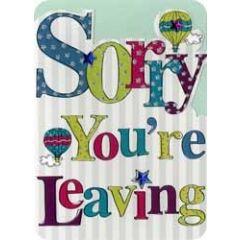 afscheidskaart - sorry you re leaving