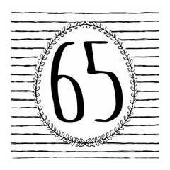 65 - wenskaart  piano handwriting