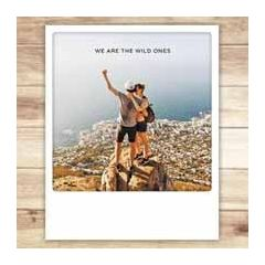 ansichtkaart instagram pickmotion - we are the wild ones