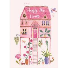 wenskaart nieuwe woning - roger la borde - happy new home