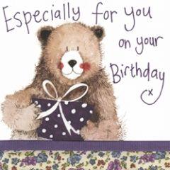 verjaardagskaart alex clark - especially for you on your birthday - beer