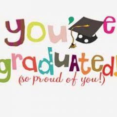 felicitatiekaart geslaagd van caroline gardner - you ve graduated!