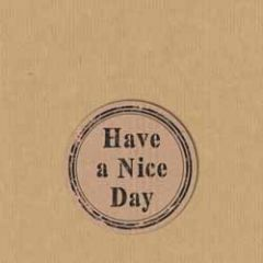 sluitstickers - sluitzegels - have a nice day