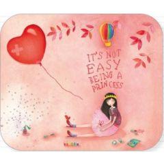 ansichtkaart met envelop - tv kaart - mila - it is not easy being a princess
